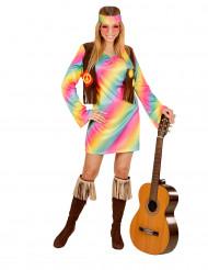Naisten pastelli hippiasu