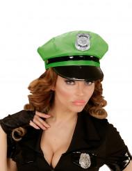 Vihreä koppalakki poliisille