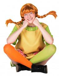 Naisten Peppi Pitkätossu™-peruukki