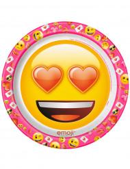 Emoji™ -pahvilautaset, 8 kpl
