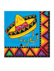 Meksikolaistyyliset servietit 20 kpl
