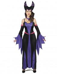 Violetti paholaisasu naisille