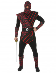 Punainen varjo - Ninja naamiaisasu aikuisille