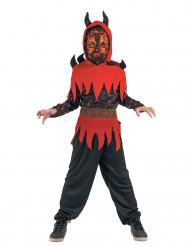 Tulen demoni - lasten Halloween-asu
