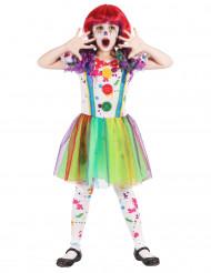 Multicolor Klovni-naamiaisasu lapsille