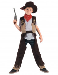 Rohkea Cowboy -naamiaisasu lapselle