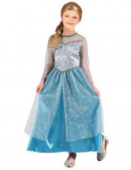 Jääprinsessan asu lapsille