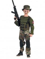 Jenkkisotilas -muskeliasu lapselle