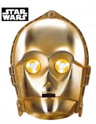 Star Wars™: C3-PO-pahvinaamio aikuiselle