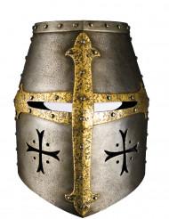 Pahvinen ritarin kypärän naamari