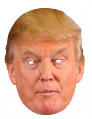 Pahvinen Donald Trump-naamari