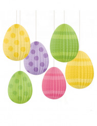 Paperiset pääsiäismunat, 6 kpl