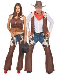 Cowboy -naamiaisasusetti aikuisille