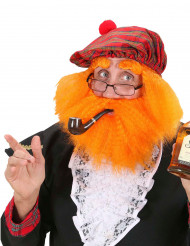 Skotlantilainen myssy sekä parta