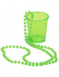 Vihreä shottilasiriipus