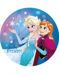 Kakkukuva Elsa ja Anna Frozen™ sadusta - 20 cm