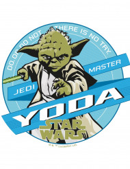 Tähtien sodan Yoda™ -kuvioitu kakkukuva