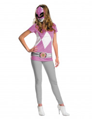 Naisten vaaleanpunainen Power Rangers™ asu