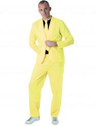 Neonkeltainen puku aikuiselle