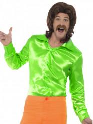 Vihreä satiininen paita aikuisille
