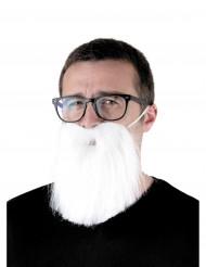 Valkoinen hipserin parta aikuiselle