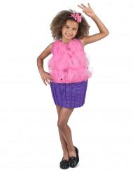 Pinkki cupcake-asu lapsille