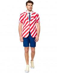 Opposuits™ Mr. America -naamiaisasu aikuisille