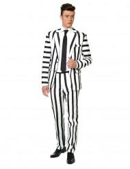 Suitmeister™ Mr. Striped -naamiaisasu aikuisille