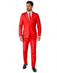 Suitmeister™ Mr. Solid Red -naamiaisasu aikuisille