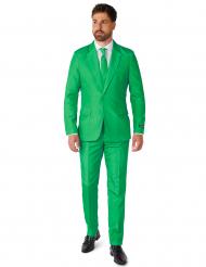 Suitmeister™ Mr. Solid Green -naamiaisasu aikuisille
