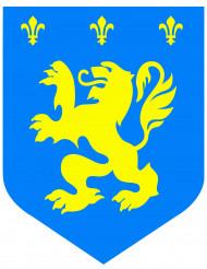 Keskiaikainen sininen leijonakoriste 30 cm