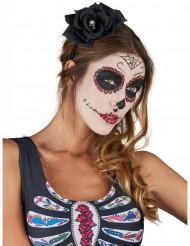 Musta Dia De Los Muertos ruusupanta - Halloweenasusteet