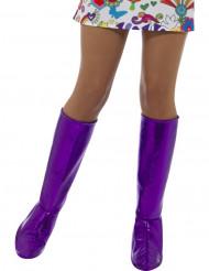 Violetit kengänpäälliset naiselle
