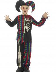 Luurankohovinarrin naamiaisasu lapselle halloween