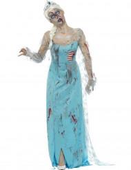 Zombiejääprinsessa - aikuisten Halloween asu
