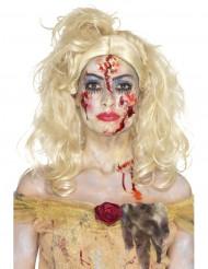 Zombiprinsessan halloween-meikkisetti naiselle