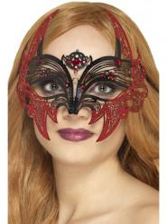 Lepakon naamari naiselle halloween