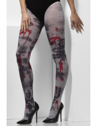 Veriset zombien sukkahousut aikuisille