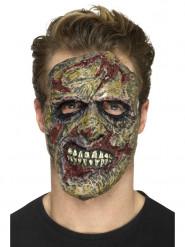 Lateksinen zombiproteesi aikuiselle halloween