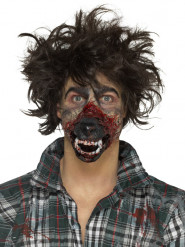 Lateksinen ihmissuden kuono- proteesi aikuiselle halloween