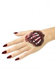 Lateksinen käden luut- proteesi aikuiselle halloween
