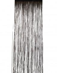 Musta kiiltävä verho 244 x 91 cm