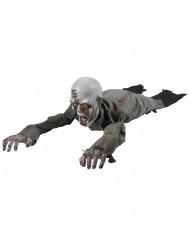Ryömivä zombi- koriste valo- ja ääniefekteillä 110 cm halloween