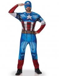 Avengers™ Kapteeni Amerikka -naamiaisasu aikuisille