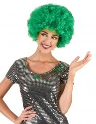 Vihreä afroperuukki aikuisille