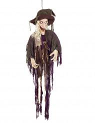 Noitariippukoriste ääni- ja liike-efektillä 170 cm halloween