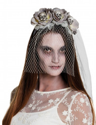 Zombin huipsanta hunnulla naiselle halloween