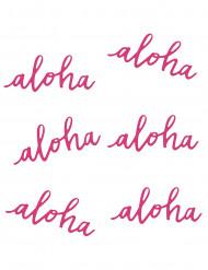 Aloha- pöytäkoristeet 12,5 cm 6 kpl