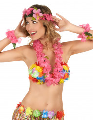 Vaaleanpunainen Havaiji-setti - Teemajuhliin