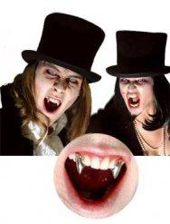 Vampyyrin metallipäällysteiset torahampaat